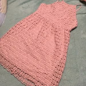 Beautiful rose pink dress